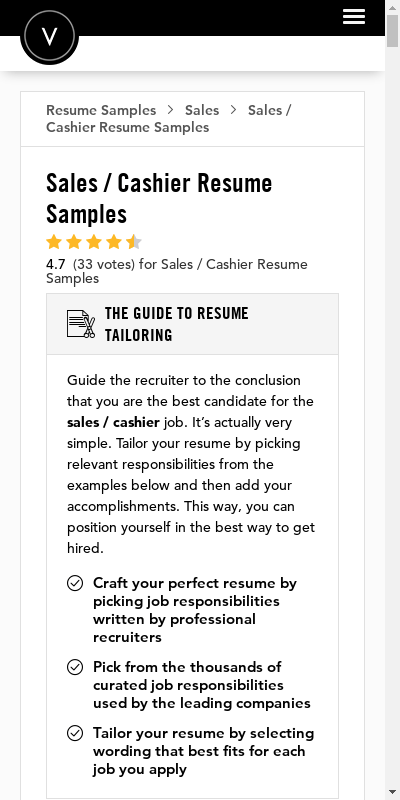 The role of cashiers is important in the success of every retail store. Cashier Cv 20 Guides Examples