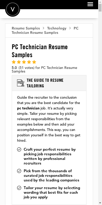 Computer technicians install new computers and upgrades or repair computers that are already in use. Pc Technician Resume 20 Guides Examples