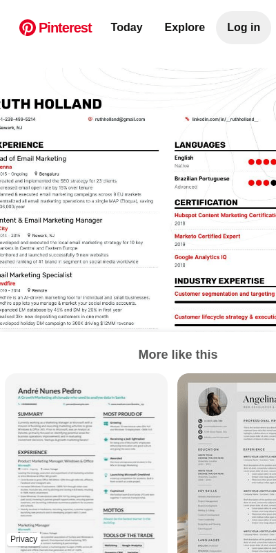 Skills such as email marketing expertise, creativity, organization, teamwork and attention to details are common experience on most example resumes for email marketing managers. Email Marketing Resume Sample 20 Guides Examples