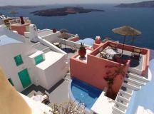 Cliff Side Suites Hotel, Firostefani, Santorini, Greece ...