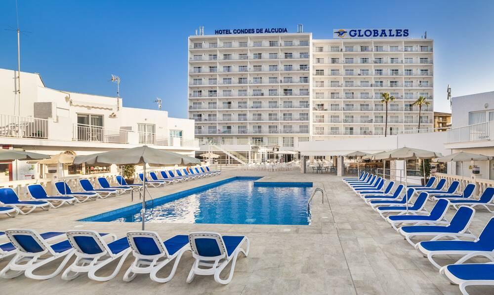 Globales Condes De Alcudia Hotel Alcudia Majorca Spain