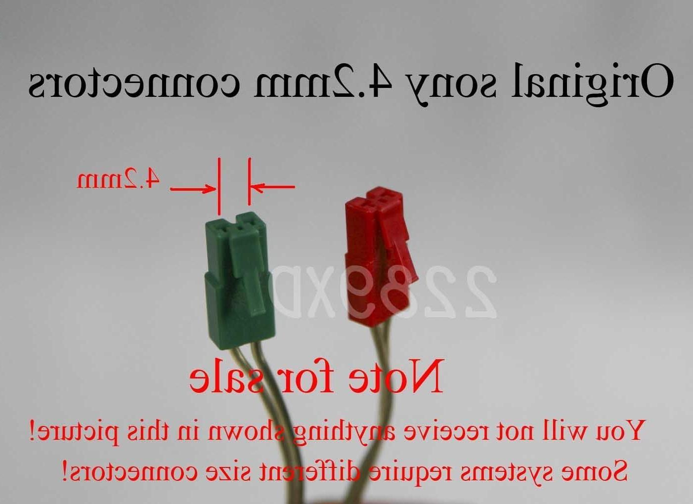 hight resolution of 6c 4 2mm plug connectors sony home theater