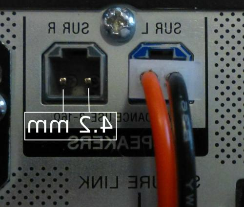 small resolution of home theater speaker cable connector for sony samsung etc 6