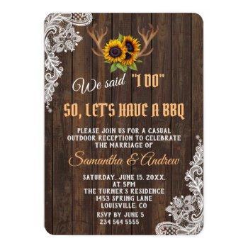 I Do Bbq Wedding Invitations Swan S