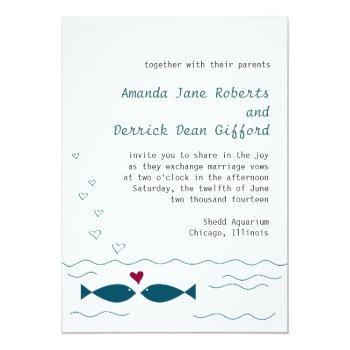 Fishing Wedding Invitations Swan S