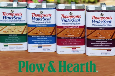 500 Plow and Hearth Gift Card from Thompsons WaterSeal sweepstakes