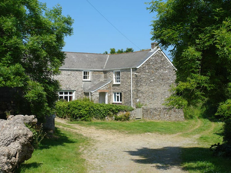 Polcreek Farmhouse Veryan Carne Cornwall Self