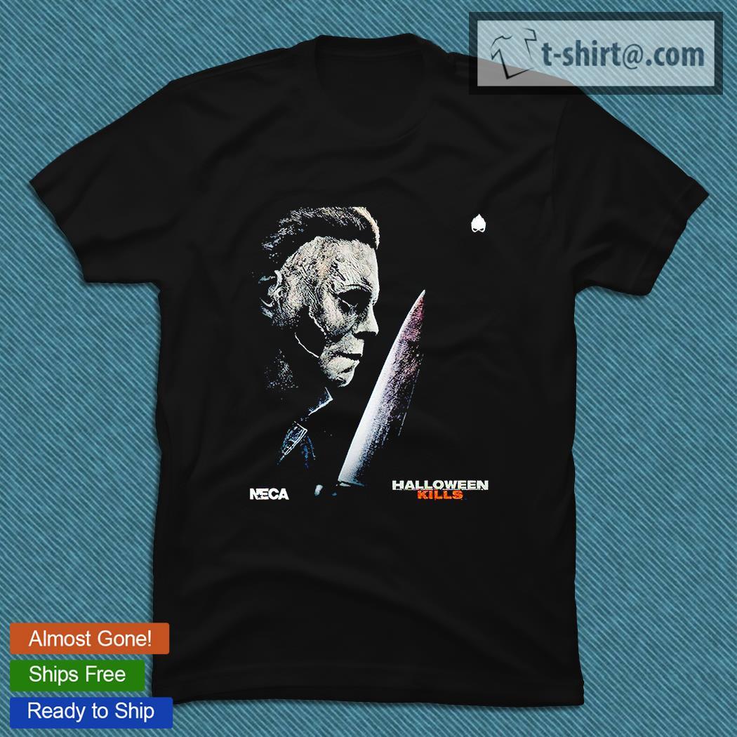 Halloween in las vegas 2021 halloveen. Michael Myers Halloween Kills NECA Halloween 2021 T-shirt