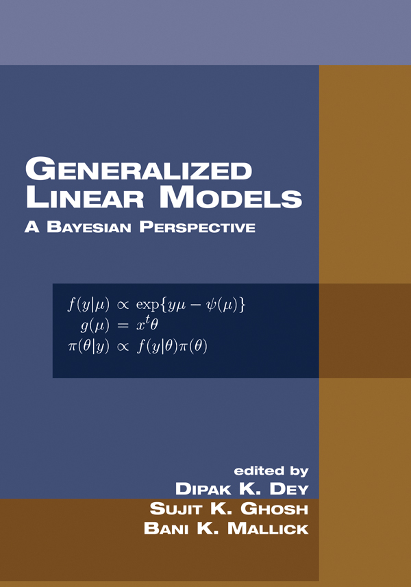 Generalized Linear Models   Taylor & Francis Group