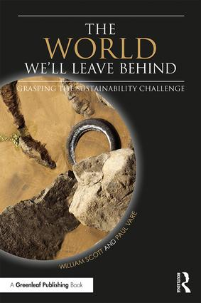The World We'll Leave Behind: Grasping the Sustainability Challenge (Paperback) book cover