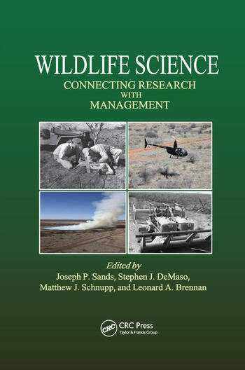Wildlife Science Connecting Research with Management