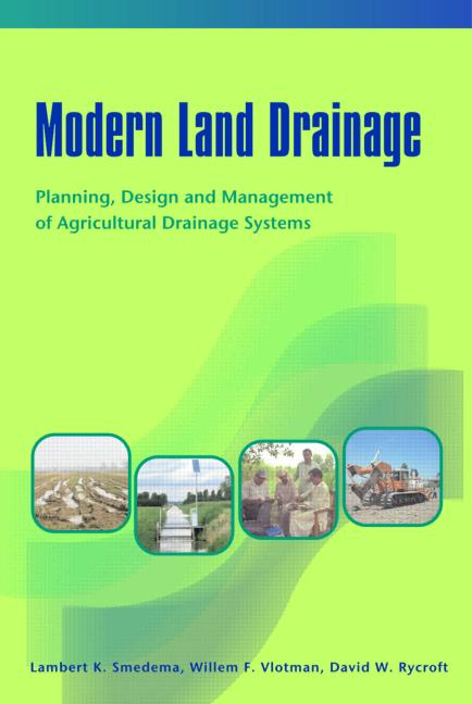 Modern Land Drainage Planning Design and Management of