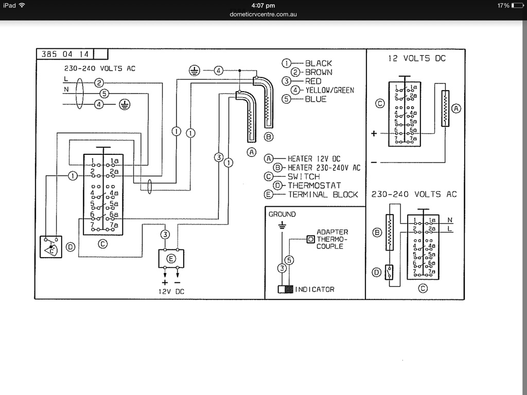 wiring diagram for 2001 sunnybrook