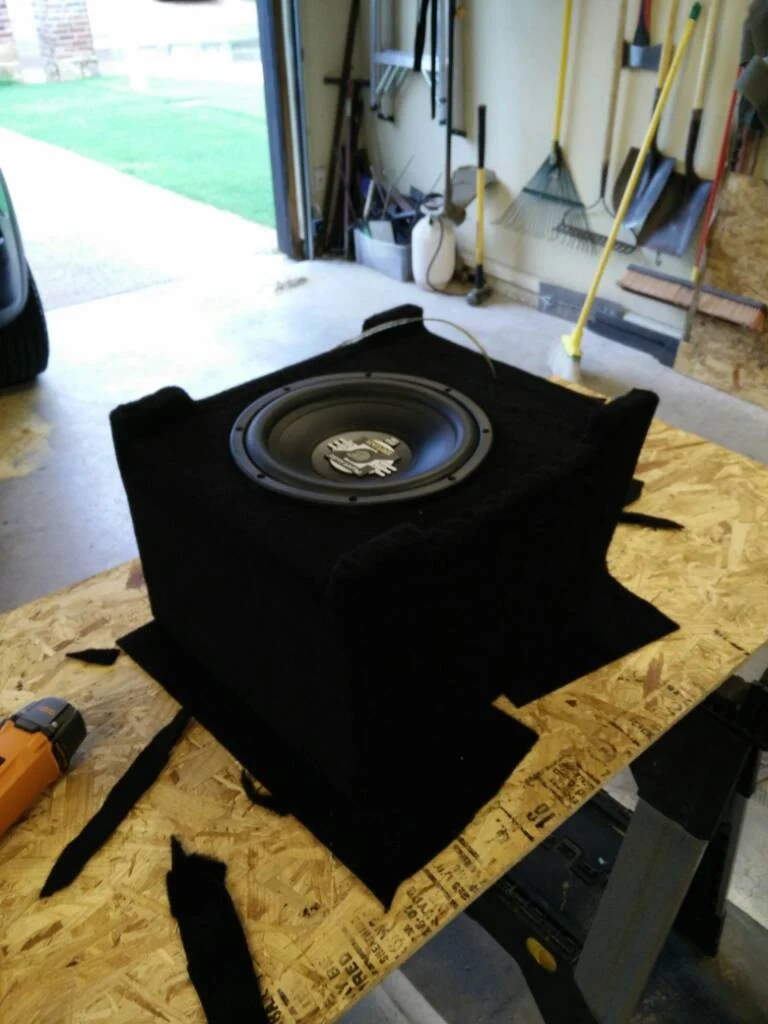 hight resolution of build a box and install sub and amp