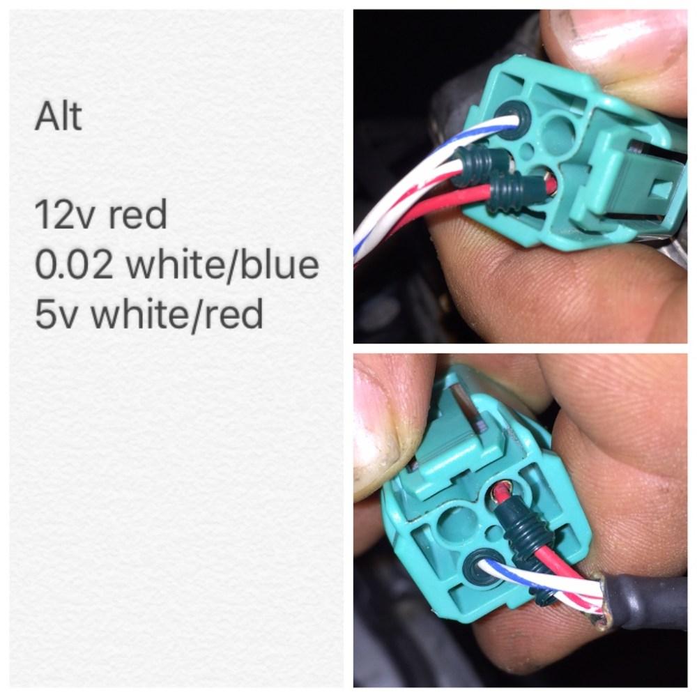 medium resolution of alternator wiring pinout k20a org the k series source honda acura k20a k24a engine forum