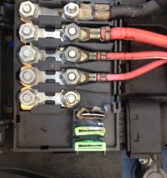 the audi tt forum u2022 view topic battery fuse box burned 2001 audi tt battery top fuse box audi battery fuse box [ 768 x 1024 Pixel ]