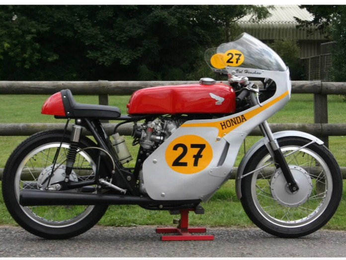 Xe Honda CB450 Classic racer