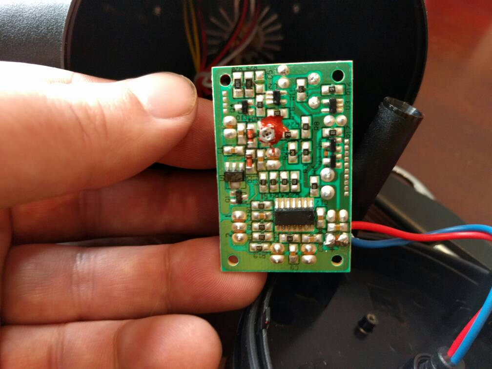 christmas lights wiring diagram forums 2003 dodge ram trailer upping the power on a star shower laser light projector here s few pics you can see inline resistor in first two red wire with black shrink tubing
