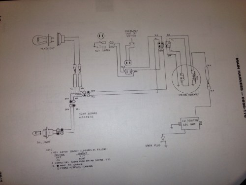 small resolution of that s the 600 carb wiring