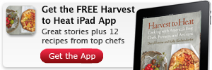 Harvest to Heat Recipes iPad App
