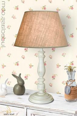 Visualizza altre idee su lampade da comodino, lampade, comodini. Lampada Da Tavolo Stile Provenzale Legno Shabby Chic