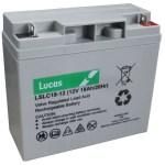 Lslc18 12 Lucas Sealed Lead Acid Battery 12v 18ah