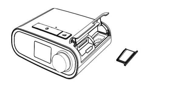 Filtro Ultrafino CPAP e BiPAP DreamStation Philips