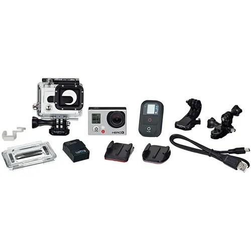 Câmera Digital Full HD GoPro Hero3 Black Edition Adventure