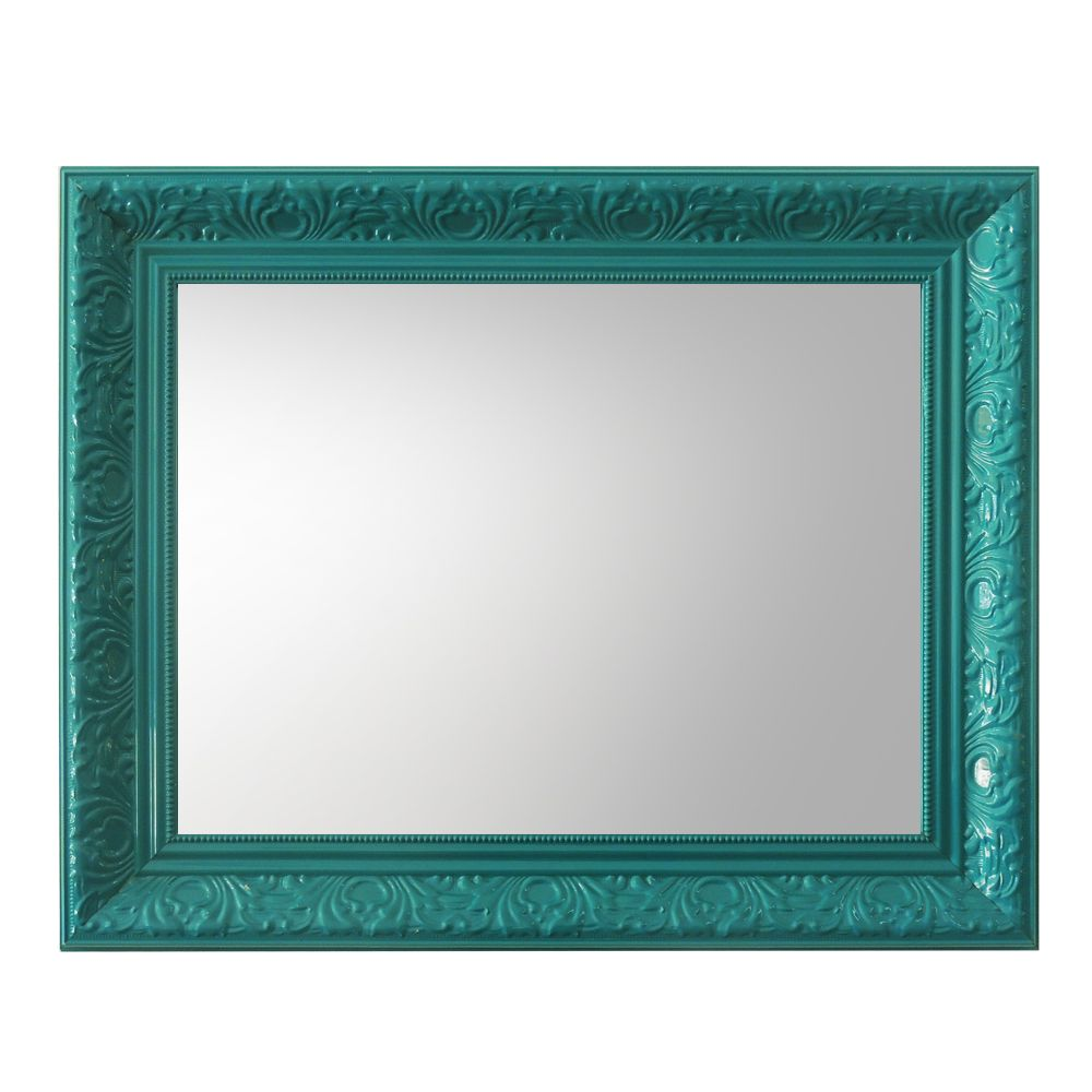 Espelho Grande com Moldura Verde  N Store  Mveis e