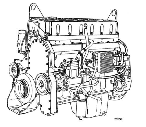 Motor Diesel CUMMINS QSB