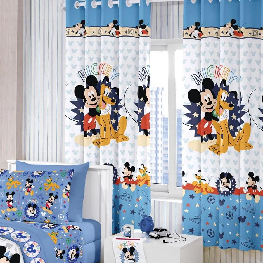 Cortina Infantil  Mickey Happy  280m x 180m  P Varo