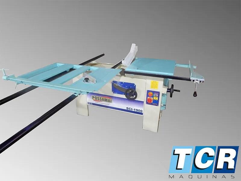 Esquadrejadeira SCI1900  TCR Maquinas Para Marcenaria