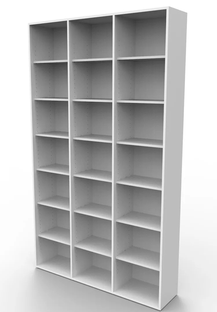Estante biblioteca para livros bookcase tabaco BK03BR