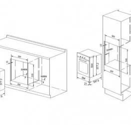 Forno e Grill Elétrico Multifunções 60 cm 83 Litros