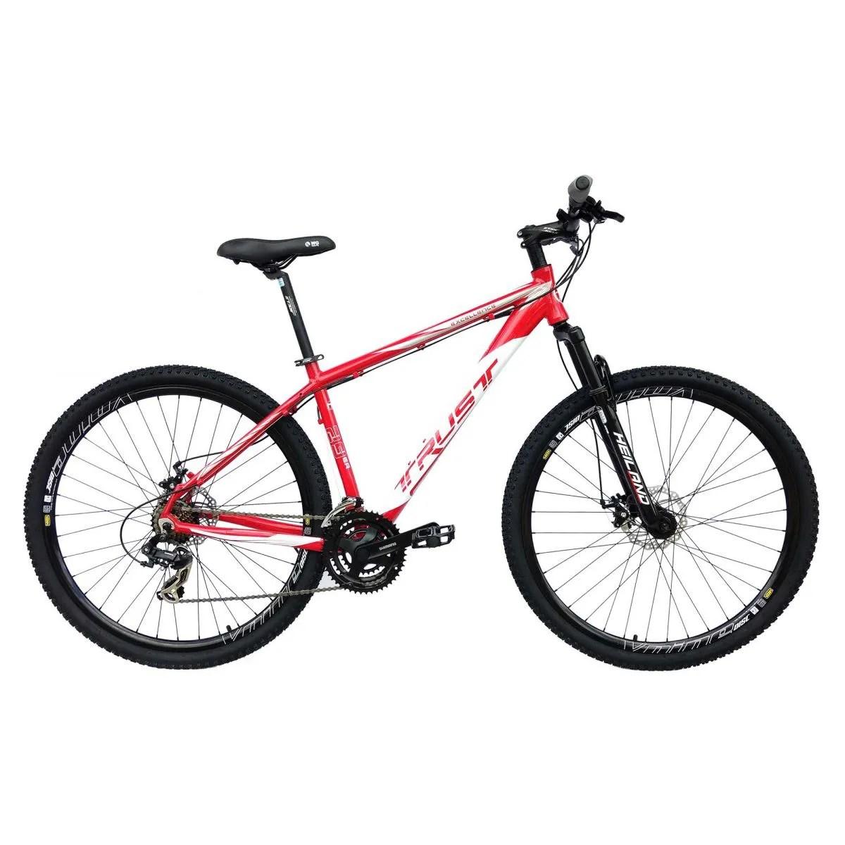 Bike 29er Trust Excellence 24v Shimano Freio A Disco