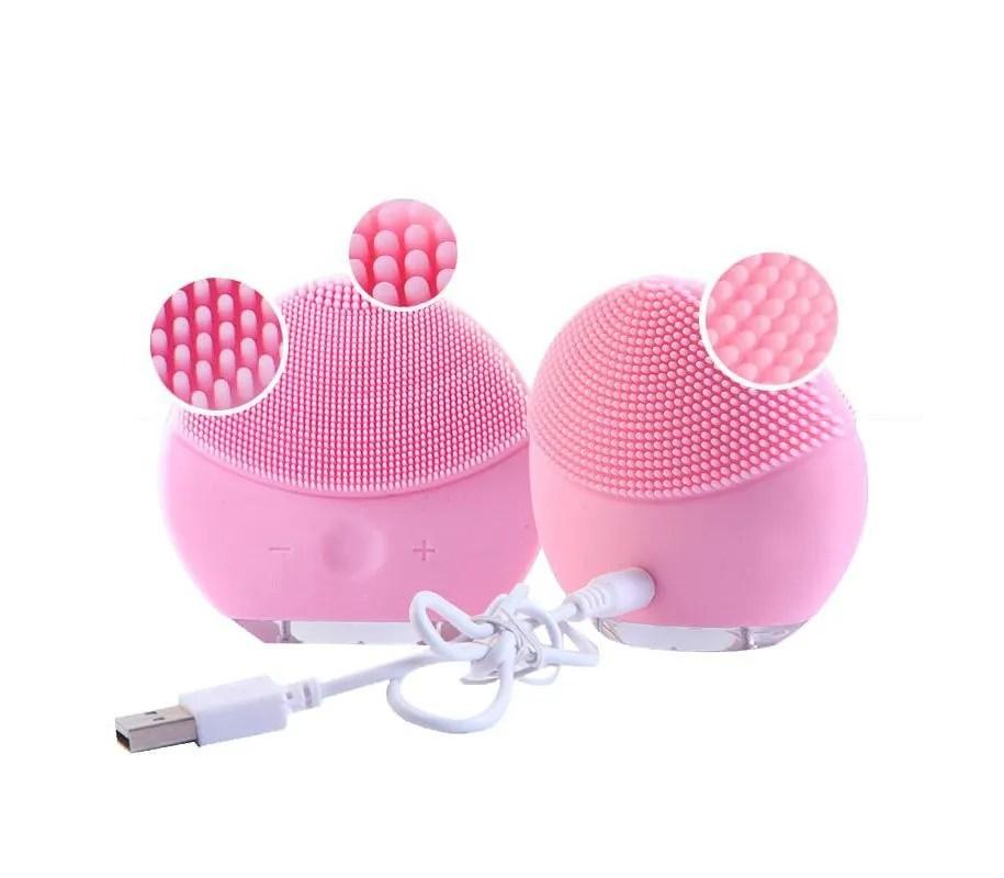 Escova de limpeza facial ultrassônica FOREVER Curvilíneos
