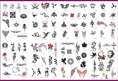 Airbrush Tattoo Designs