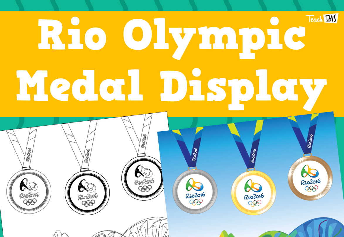 Rio Olympic Medal Display Teacher Resources And Classroom Games Teach This