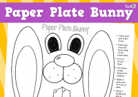 Paper Plate Bunny :: Teacher Resources and Classroom Games ...