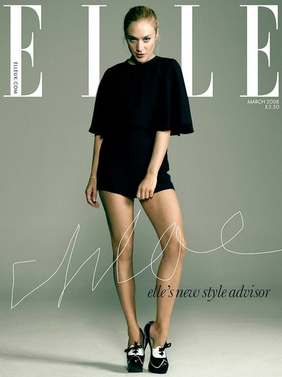 Chloe Sevigny sucks in untypical ELLE fashionistas by wearing no pants