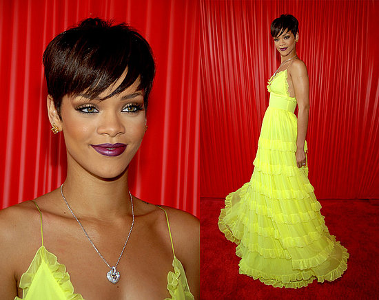 This dress on Rihanna, do. This dress on anyone else in the unvierse, dont.