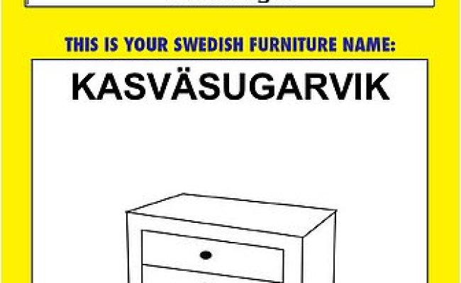 Cool Idea Ikea Furniture Name Generator Popsugar Home