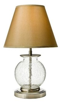 Casa Beta: Thomas O'Brien Small Crackle Glass Lamp