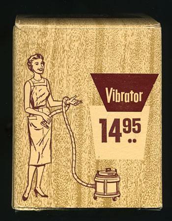 gammeldags vibratorreklame