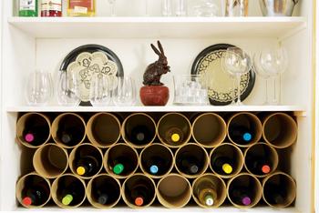 do it yourself wine racks