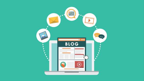 make a blog website