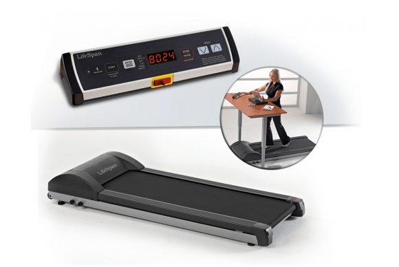 Review LifeSpans Bluetoothenabled treadmill desk is