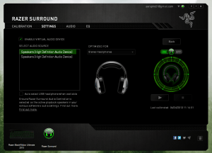 Razer's new Surround software turns your stereo headset into a 71 home theater | PCWorld