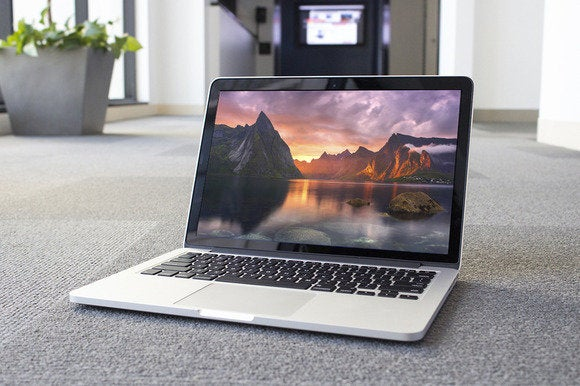 13 Inch Retina Macbook Pro Review Thinner Lighter And