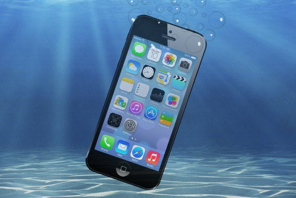 drowned iphone